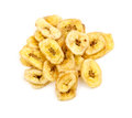 Tasty Banana Chips Studio Shot Royalty Free Stock Photos - 48626118