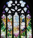 Church Window In Saint David S Cathedral Hobart, Tasmania Royalty Free Stock Images - 48626769
