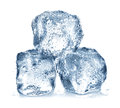 Ice Cubes Isolated Stock Images - 48641784