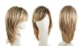 Hair Wig Over The Mannequin Head Stock Image - 48654781