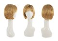 Hair Wig Over The Mannequin Head Royalty Free Stock Images - 48655209