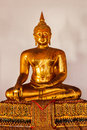 Sitting Buddha Statue Close Up, Thailand Royalty Free Stock Photography - 48665607