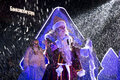 Grandfather Frost On Stage On The Square In Pyatigorsk, Russia Royalty Free Stock Photos - 48670618