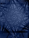 Blue Vector Shape Background Stock Photography - 4870782