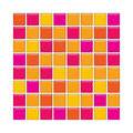Orange And Pink Glass Tiles Royalty Free Stock Photography - 4877777