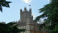 Tower Of Highclere Castle, Downton Abbey Royalty Free Stock Photo - 48742635