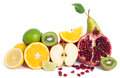 Fresh Fruits Mix Stock Photography - 48756142
