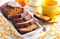 Honey Rye Loaf Cake Stock Photography - 48776962