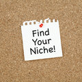 Find Your Niche Stock Photos - 48781993