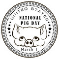 National Pig Day Stock Images - 48799724