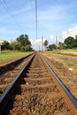 Train Tracks Royalty Free Stock Images - 4883689
