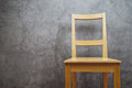 Empty Wooden Chair Stock Image - 48806631