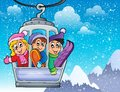 Cable Car Theme Image 2 Royalty Free Stock Photography - 48813197
