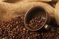 Coffee Beans In A Cup Stock Photo - 48829780