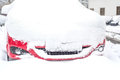 Car Covered With Snow Stock Photo - 48846140