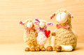 Family Sheep Doll Stock Images - 48851504