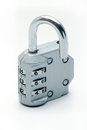 Sliver Padlock Royalty Free Stock Images - 48853359