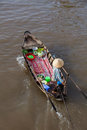 Can Tho Floating Market, Mekong Delta, Vietnam. Royalty Free Stock Image - 48853416