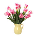 Bouquet Of Pink Tulips Royalty Free Stock Images - 48853509