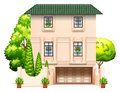 A Building With Trees Stock Images - 48880544