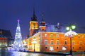 Warsaw, Castle Square Royalty Free Stock Photo - 48898935