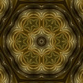 Golden Petals Mandala Stock Photo - 4890920