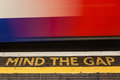 Mind The Gap Stock Photography - 48909682