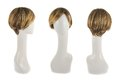 Hair Wig Over The Mannequin Head Royalty Free Stock Photo - 48911145