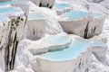 Travertine Pools And Terraces In Pamukkale, Turkey Stock Photos - 48915953