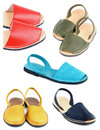 Collection Of Sandals Stock Image - 48924791