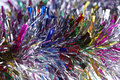 Colorful Tinsel Objects Decorated Royalty Free Stock Photography - 48935047