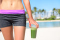 Green Vegetable Smoothie - Healthy Lifestyle Stock Photography - 48949052