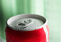 Water Drop On Soda Cans Stock Photos - 48961063