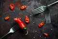 Red Hot Chili Peppers Royalty Free Stock Image - 48970476