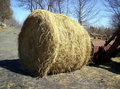 Hay Bale In Countryside Stock Images - 491114