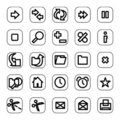 Web And Media Icon Set Stock Photos - 4909043