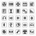 Web And Media Icon Set Royalty Free Stock Photography - 4909167
