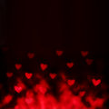 Abstract Valentine S Day Background With Red Hearts Stock Photography - 49010612