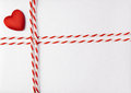 Red Heart Valentine Day Background, Wedding Invitation Card Stock Photos - 49015923