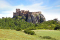 The Ancient Loarre Castle, Spain Royalty Free Stock Image - 49016056