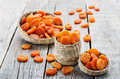Dried Apricots Stock Image - 49032851