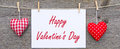 Happy Valentines Day Sign Royalty Free Stock Photography - 49033367