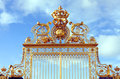 Gold Gate - Palace Of Versailles Royalty Free Stock Photography - 49061327