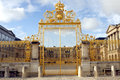 Gold Gate - Palace Of Versailles Stock Image - 49061351