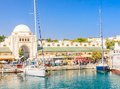 Mandraki Port And New Market. Rhodes Island. Greece Stock Image - 49063181