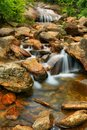 Lower Falls At Graveyard Fields Royalty Free Stock Photos - 49071138