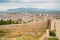 Aerial View Of Ohrid Royalty Free Stock Photography - 49081297