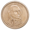 One US Dollar Coin Stock Photography - 49093552