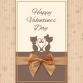 Valentine S Day Greeting Card Royalty Free Stock Photography - 49095467