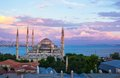 Blue Mosque At Sunset In Istanbul, Turkey, Royalty Free Stock Photography - 49117447
